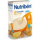 NUTRIBEN 8 CEREALES Y MIEL CALCIO 600 G.